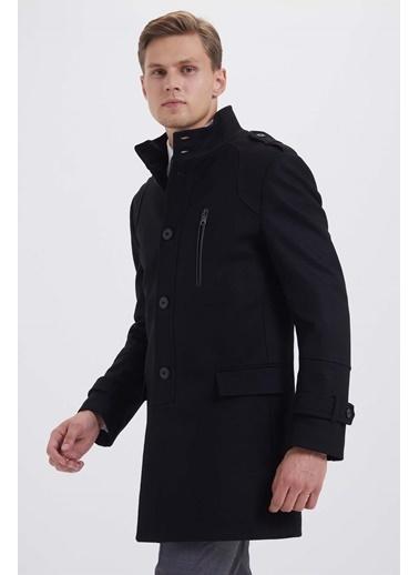 Hatem Saykı Palto Siyah